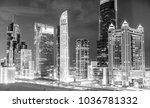 dubai  uae   february 26  2018  ...   Shutterstock . vector #1036781332