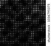 abstract grunge grid polka dot... | Shutterstock .eps vector #1036795375