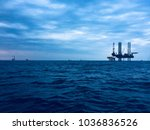 beautiful offshore rig hd image ... | Shutterstock . vector #1036836526