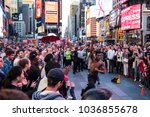 new york  new york usa 10 03... | Shutterstock . vector #1036855678