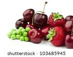 Fresh Ripe Berries Photographed ...