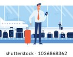 people traveling design.... | Shutterstock .eps vector #1036868362