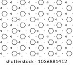 seamless vector pattern in...   Shutterstock .eps vector #1036881412