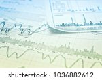 showing business and financial... | Shutterstock . vector #1036882612