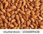 background of big raw peeled... | Shutterstock . vector #1036889638