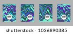 covers templates set with...   Shutterstock .eps vector #1036890385