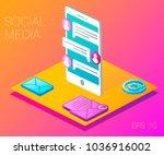 modern vector illustration... | Shutterstock .eps vector #1036916002