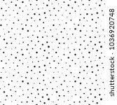 memphis geometric seamless... | Shutterstock .eps vector #1036920748