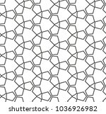 seamless vector pattern in... | Shutterstock .eps vector #1036926982