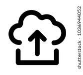 upload document file   | Shutterstock .eps vector #1036944052