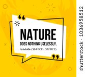 vector quotation. nature does...   Shutterstock .eps vector #1036958512