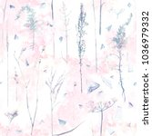 floral seamless pattern....   Shutterstock . vector #1036979332
