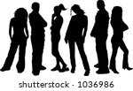 friends   vector | Shutterstock .eps vector #1036986
