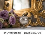 shabby chic composition | Shutterstock . vector #1036986706
