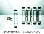 group object of liquid... | Shutterstock . vector #1036987192