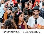 beer sheva  israel   march 01 ...   Shutterstock . vector #1037018872