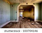 Interior Abandoned House...