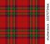 clan stewart scottish royal... | Shutterstock .eps vector #1037073466