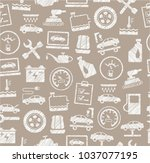 the automotive service. one... | Shutterstock .eps vector #1037077195