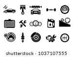 car service maintenance icon... | Shutterstock .eps vector #1037107555