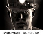 Tired Dirty Face Of Coal Miner...
