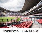 coapa  mexico city  august 8 ... | Shutterstock . vector #1037130055