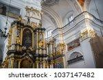 grodno  belarus   august 06 ... | Shutterstock . vector #1037147482