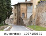 view of the old village of... | Shutterstock . vector #1037150872