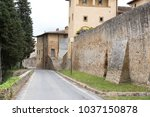 view of the old village of... | Shutterstock . vector #1037150878