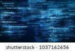 3d illustration of working... | Shutterstock . vector #1037162656