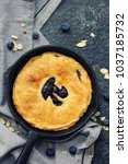 pi day special homemade... | Shutterstock . vector #1037185732