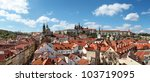 Panoramic View Of Prague Castle ...