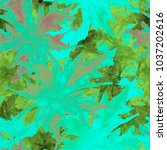 seamless tie dye pattern with... | Shutterstock . vector #1037202616