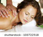 spa massage | Shutterstock . vector #103722518