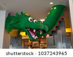Lego Dragon In New York