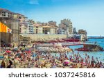 marseille  france  26  may ...   Shutterstock . vector #1037245816