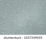 drops of rain on the glass. | Shutterstock . vector #1037249035