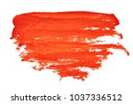 paint for drawing. spot. smear. ... | Shutterstock . vector #1037336512