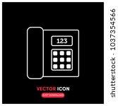 telephone vector icon...