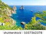 View On Faraglioni Rocks On...