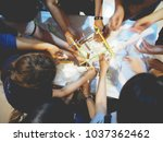 professional training courses...   Shutterstock . vector #1037362462