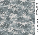 camouflage seamless pattern.... | Shutterstock .eps vector #1037368822