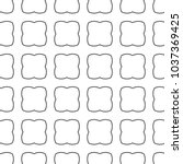 seamless vector pattern in... | Shutterstock .eps vector #1037369425
