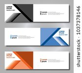 banner background modern... | Shutterstock .eps vector #1037378146