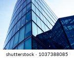skyscraper business office ... | Shutterstock . vector #1037388085