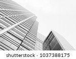 skyscraper business office ... | Shutterstock . vector #1037388175