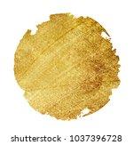 watercolor golden background | Shutterstock . vector #1037396728
