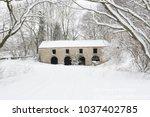 Keld Head Peat Barn In The Snow