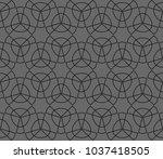 modern stylish texture.... | Shutterstock .eps vector #1037418505