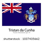 high detailed vector flag of... | Shutterstock .eps vector #1037435662